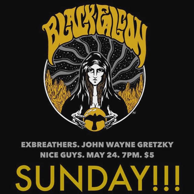 SUNDAY at Nice Guys Black Falcon ExBreathers John Wayne Gretzkyhellip