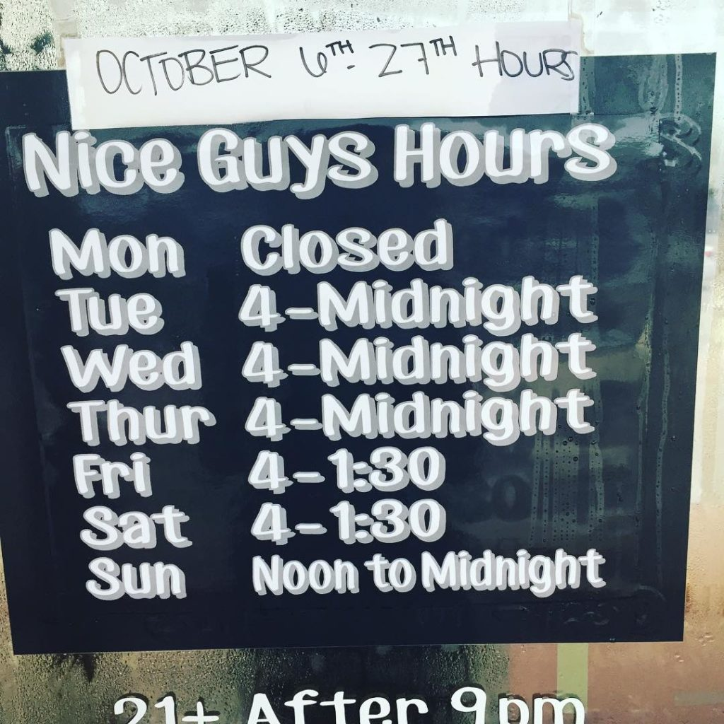 Please note these will be our hours through October 27thhellip