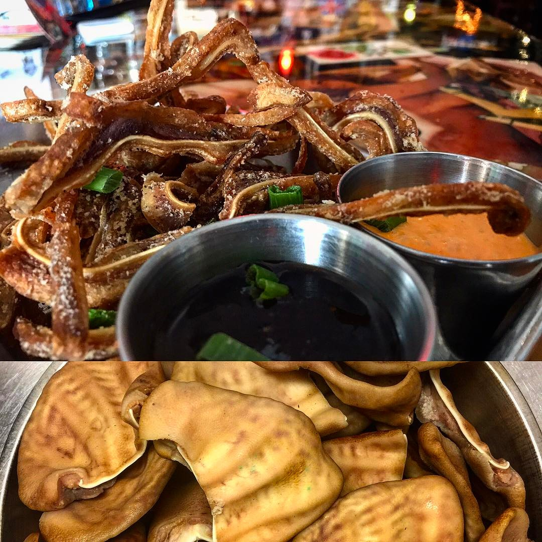 Crispy Pig Ears  Weekend Special Before And After pigearshellip