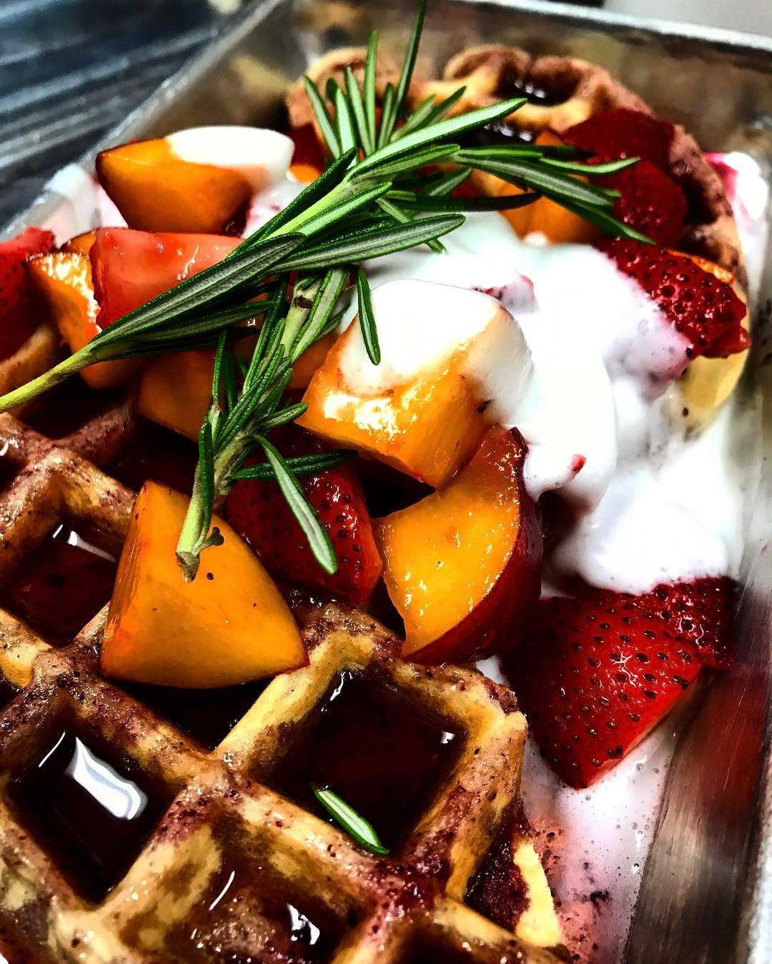 BRUNCH SUNDAY noon3! veganwaffles and all the usual suspects! Itshellip