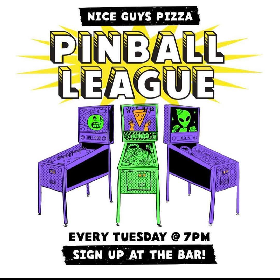 Pinball league is starting back up tonight at 7! Forhellip