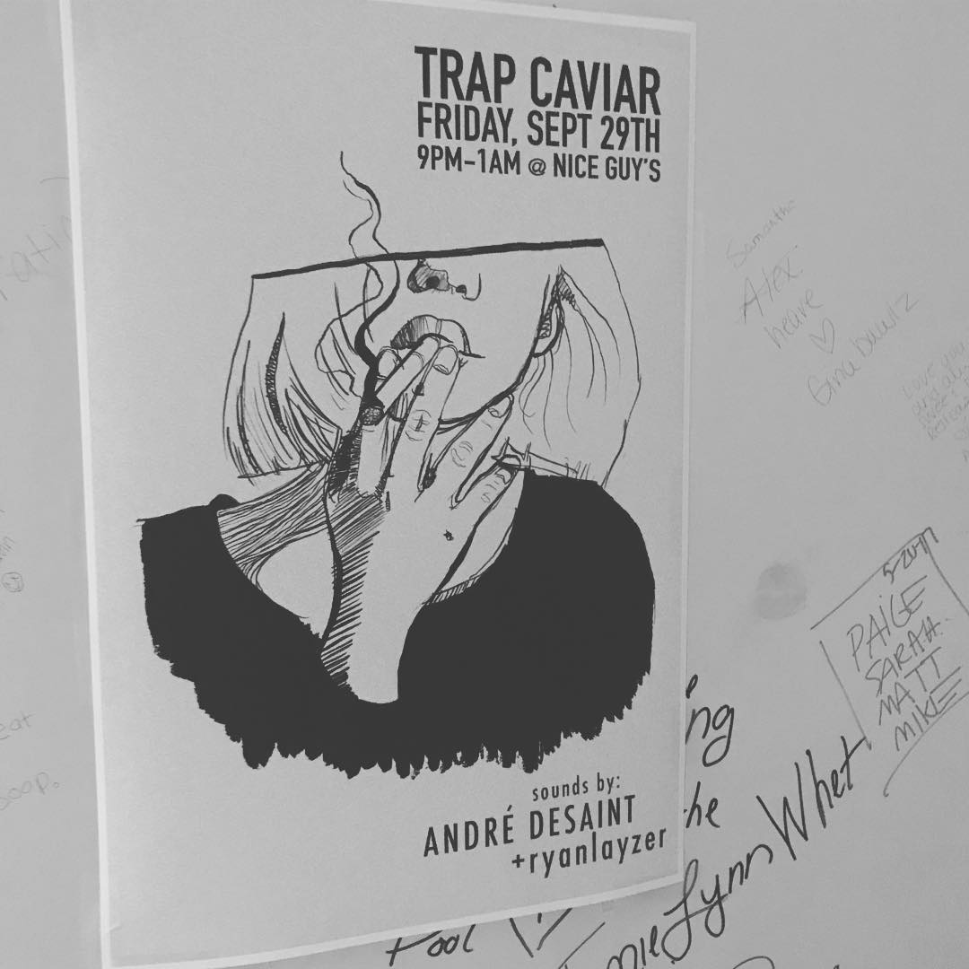 TONIGHT 9PM1AM trapcaviar with andredesaint and ryanlayzer  Continue Reading