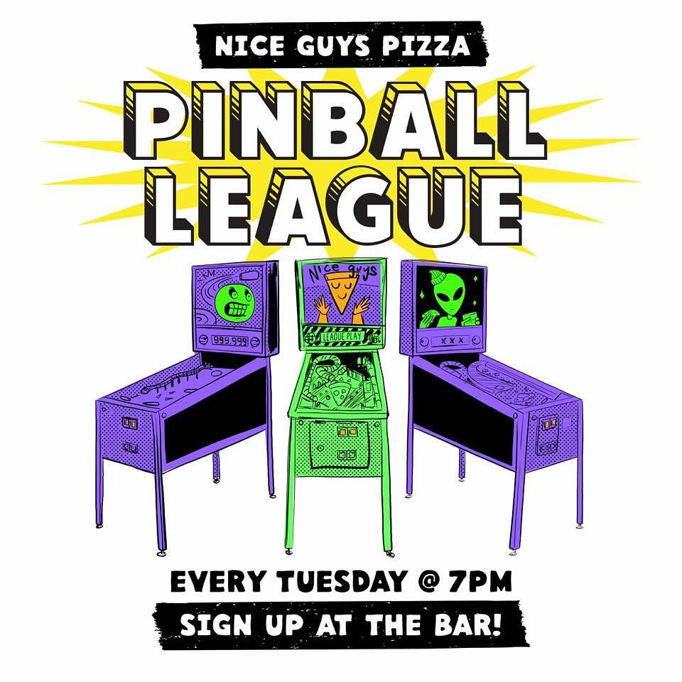 pinballleague tonight at 7pm! Its never too late to starthellip